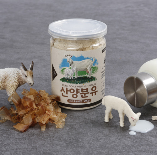 Milk powder of mountain goat(dried bonito taste) for Cat 200g