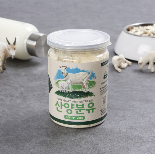 Mountain goat's dry milk of beef taste for Dog 200g